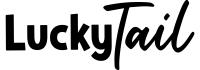 luckytail_logo juods